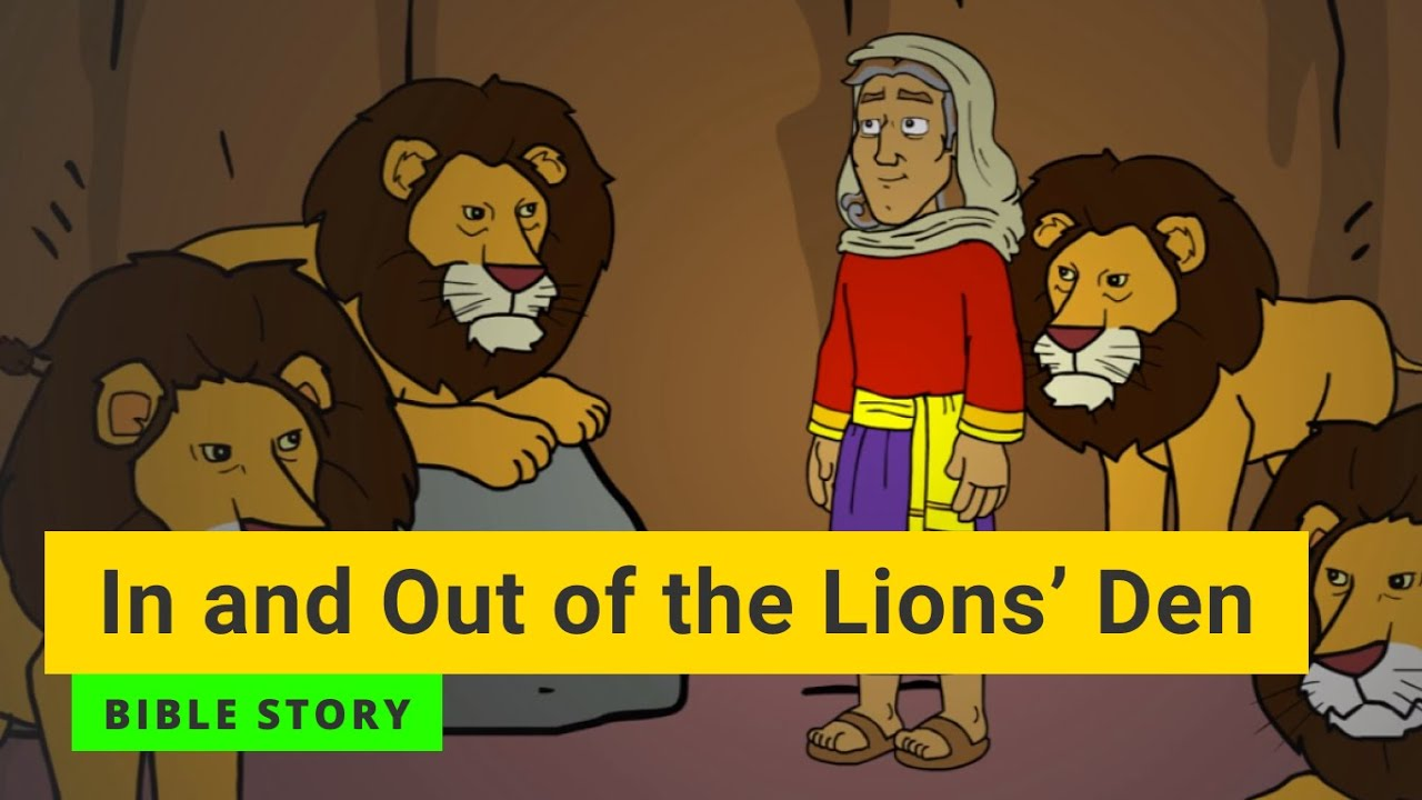 """Download Bible story """"In and Out of the Lions' Den"""" 