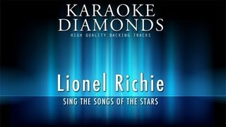 Lionel Richie - Running With the Night (Karaoke Version)