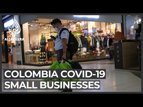 Colombia economy: Rising COVID-19 cases disrupt shopping season