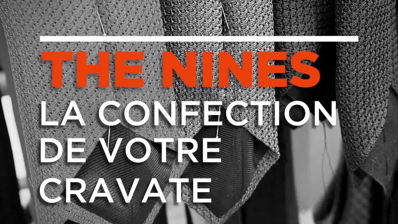 chaussures authentiques style à la mode rechercher l'original Tie making - The Nines