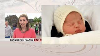Royal Baby Named Princess Charlotte Elizabeth Diana