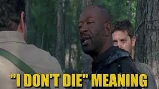 Lennie James Answers What Morgan Meant With The Line