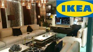 جولة في إيكيا قسم الأثاث Ikea Youtube