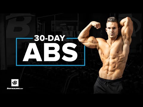 30-Day Abs Training Plan | Abel Albonetti