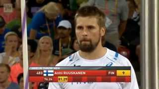 Mens Javelin Throw Final IAAF World Championships Beijing 2015