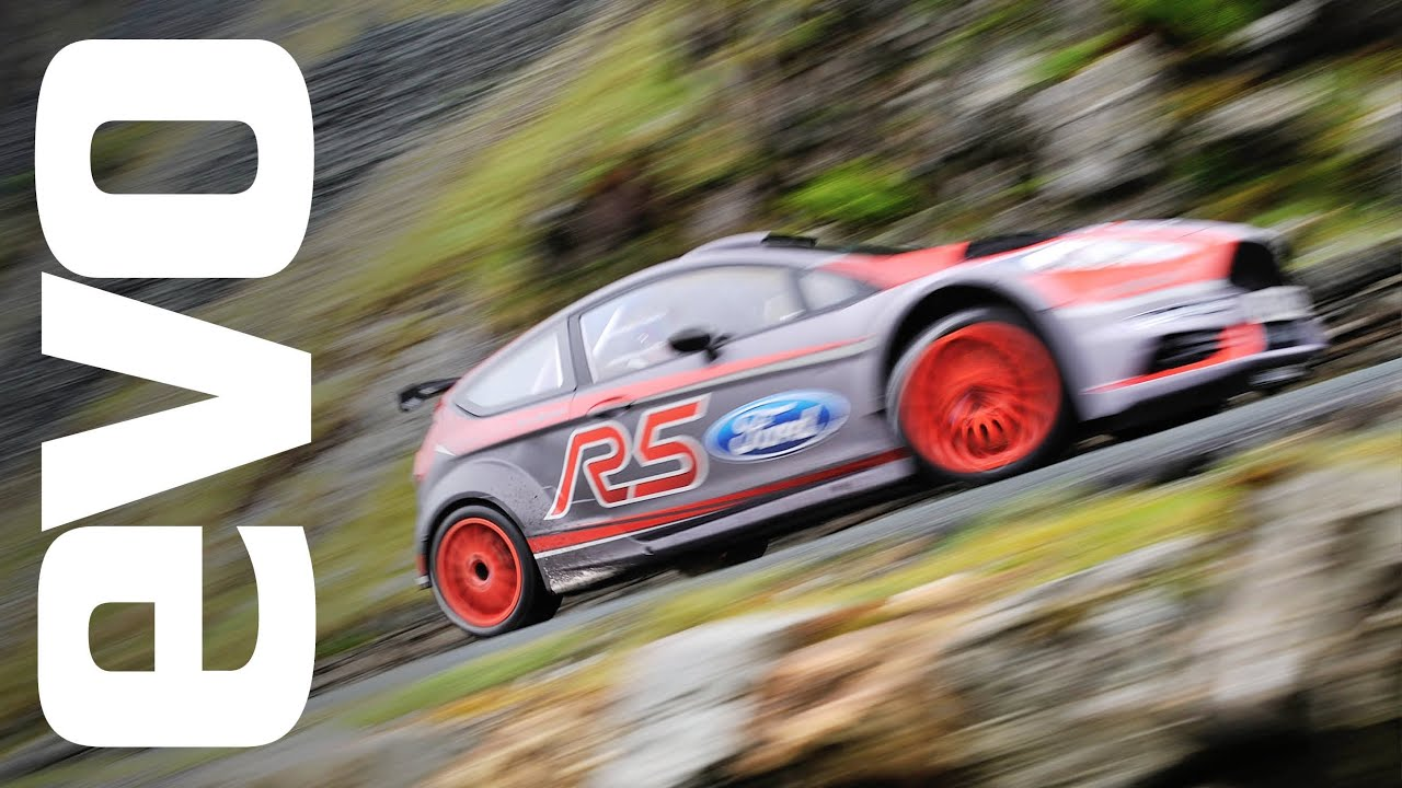 Ford Fiesta R5 rally car driven  evo TV  YouTube
