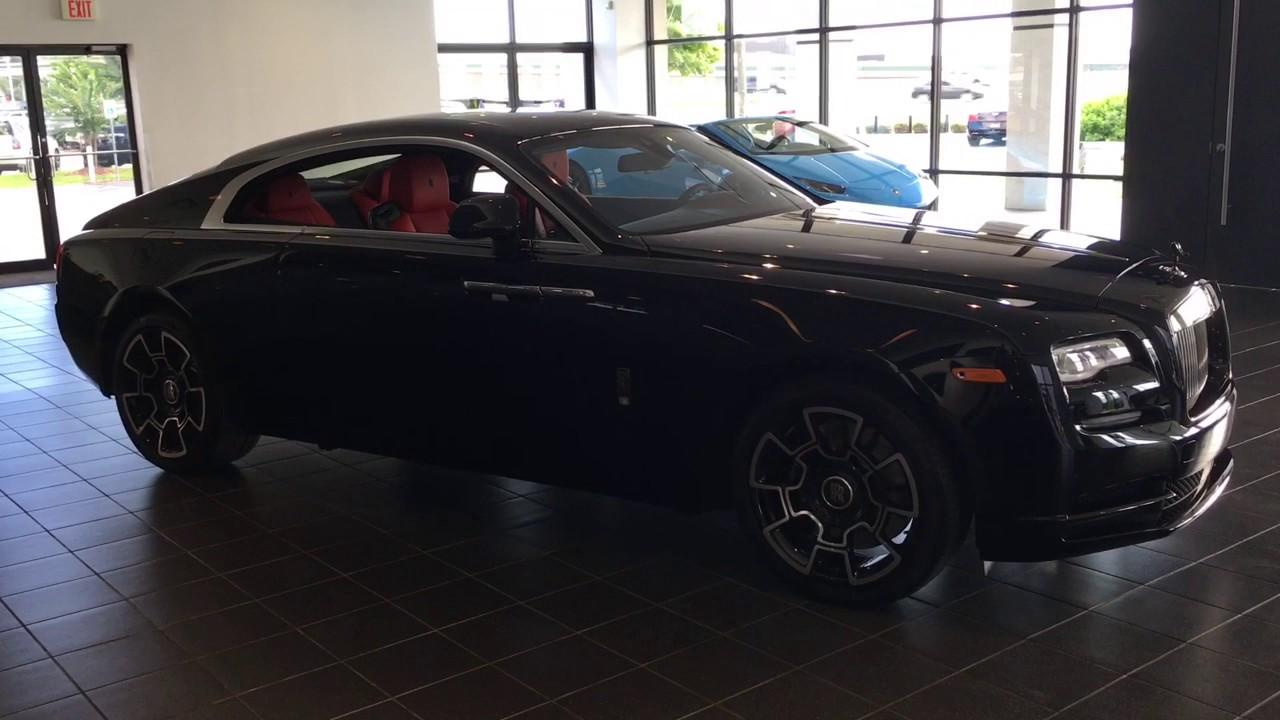 Download 2017 Rolls Royce Wraith Black Badge