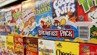 From cereal to gum, the products Americans are buying less