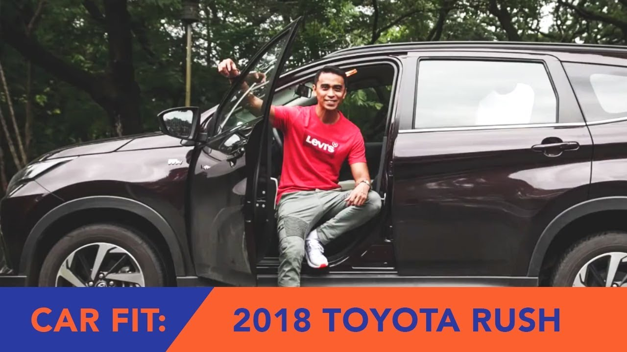 2018 Toyota Rush 1.5 G AT (Car Fit Review)