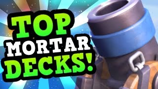 4 BEST Mortar Cycle Decks in the Meta! 4 PRO SPECIAL! :: Clash Royale