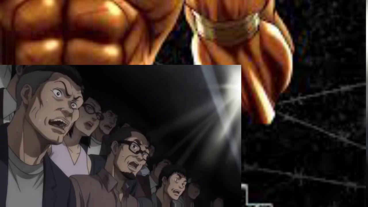 Hanma Yojiro Vs Kaku kaioh Full fight - Baki ( 2020 )