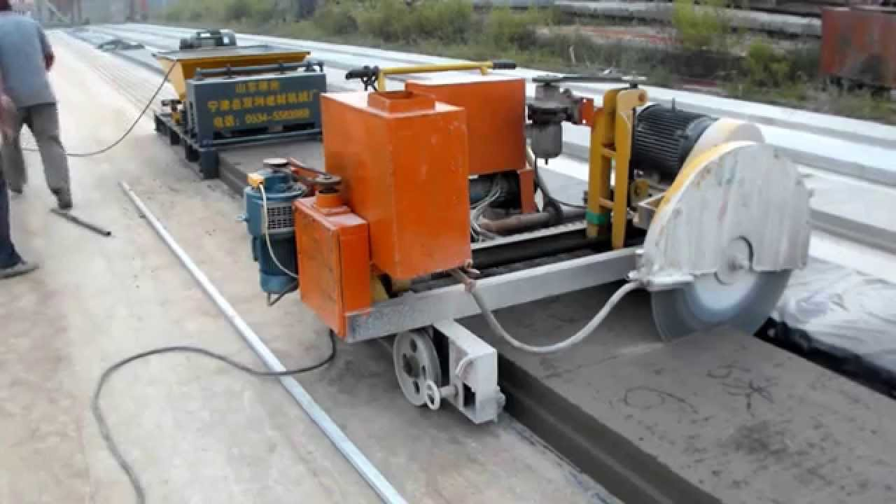 concrete slab cutting machine