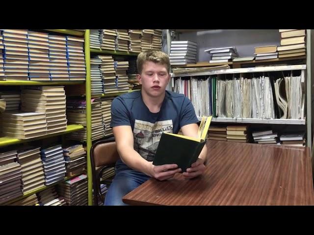 Изображение предпросмотра прочтения – РусланЗавьялов читает произведение «Синица» И.А.Крылова