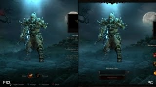 Diablo 3: PlayStation 3 vs. PC comparison