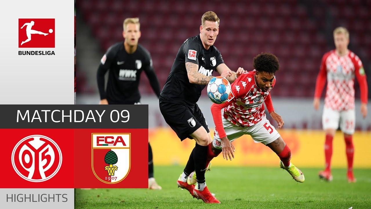 Download 1. FSV Mainz 05 - FC Augsburg 4-1 | Highlights | Matchday 9 – Bundesliga 2021/22