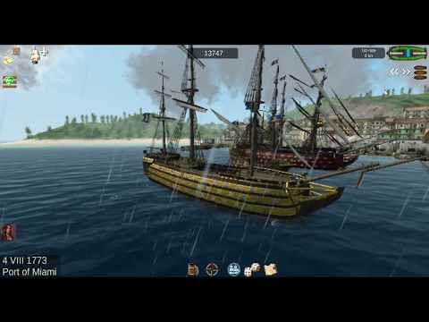 The Pirate  Caribbean Hunt (capturing 1st Rate for collection)