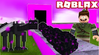 MINECRAFT ENDER DRAGON FACTORY IN ROBLOX!! (Minecraft Tycoon)