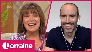 Andrew Cotter on His Dogs Olive & Mabel's Internet Fame & His Surprise for Lorraine | Lorraine