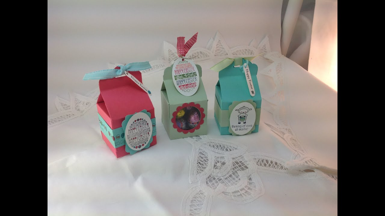 StampinUp Eggstra Easter Treat Box