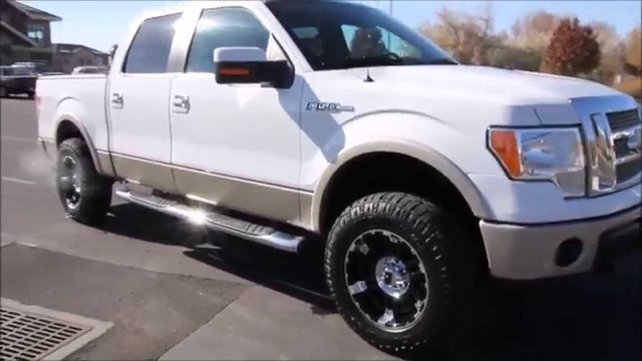 2010 ford f 150 super crew 4x4 lariat new lift tires wheels autos inc youtube