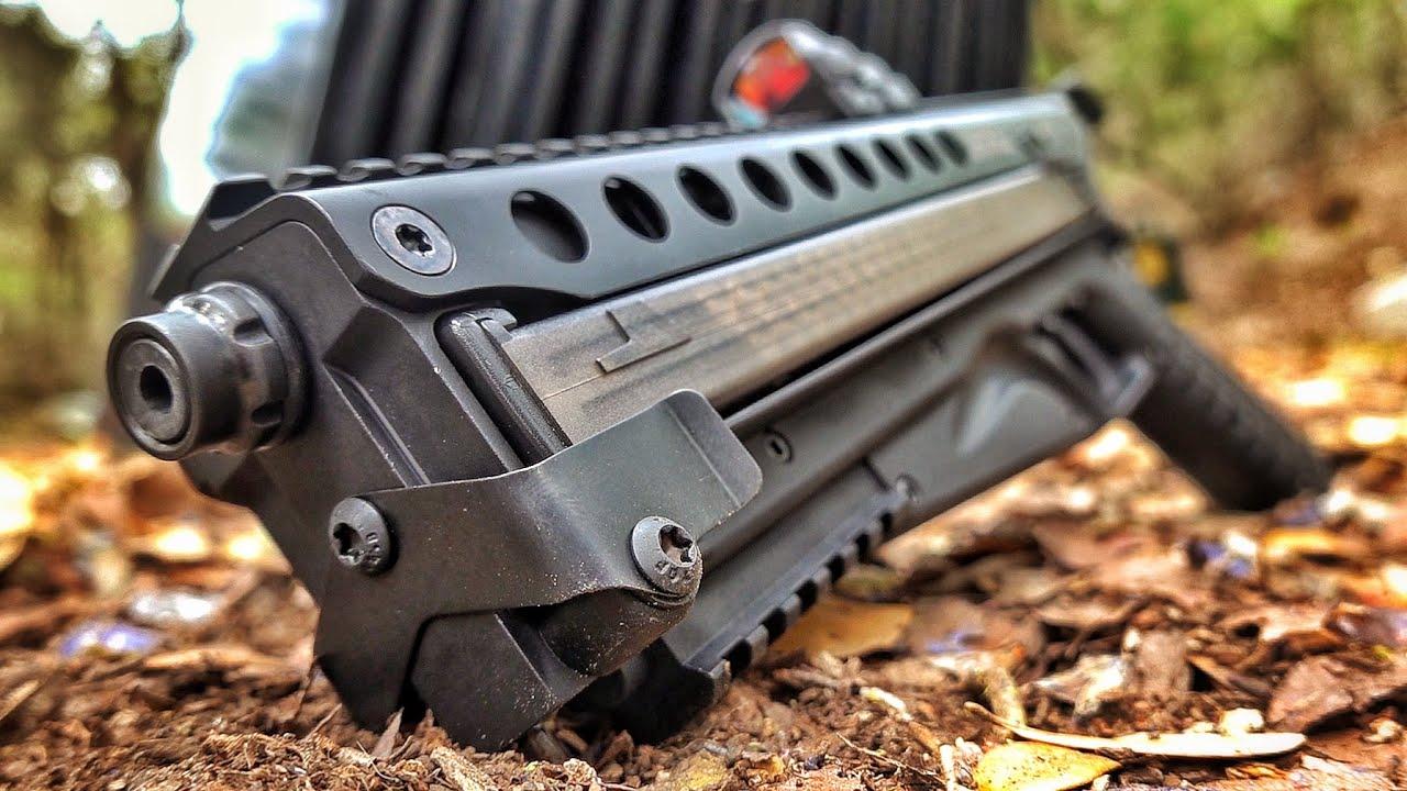 Brand New KelTec P50... Better than FN P90???