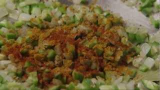 Vegetarian Bhaji Recipe - How To Make Indian Inspired Vegetable Bhaji