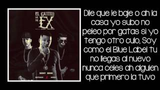 El Gatito De Mi Ex - Benny Benni ft Brytiago & Noriel (LETRA)