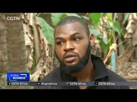 Nigerian entrepreneur cashes in on snail farming