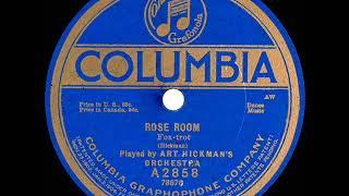 1919 Art Hickman - Rose Room