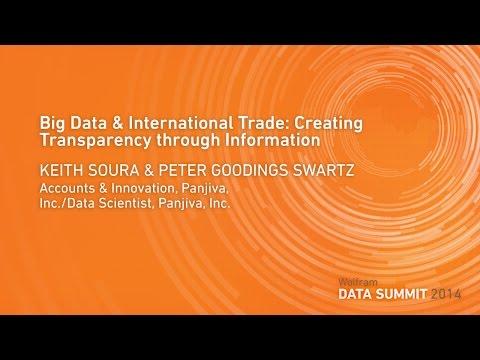 Big Data & International Trade: Creating Transparency through Information