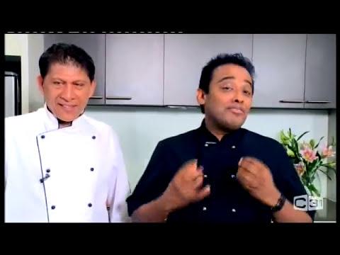 Crab Curry - chef happyK cooking with Chef Riza & beautiful Sri Lanka @ Sri Lanka Morning Show