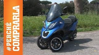 piaggio mp3 300ie 2015   perch comprarla e perch no