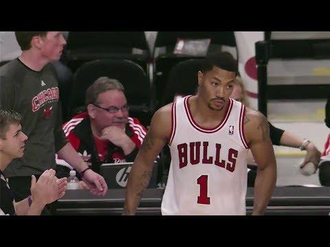 Derrick Rose 22 Pts Highlights (Hometown Return) vs Detroit Pistons (2013.10.16) (NBA PRESEASON)