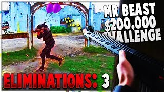 BEST VIEW In MrBeast $200,000 Airsoft Battle Royale