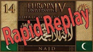 Europa Universalis IV Najdi Jihad Rapid Replay 14