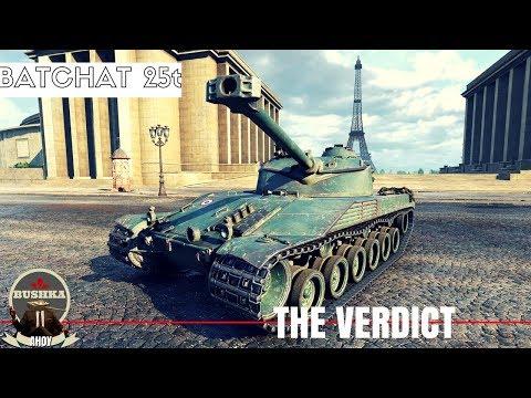 Bat Chattilon 25 t  Full Live Review World of Tanks Blitz