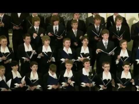 St  Petersburg Boys Choir, Russia, song Mozart Requiem Lacrimosa