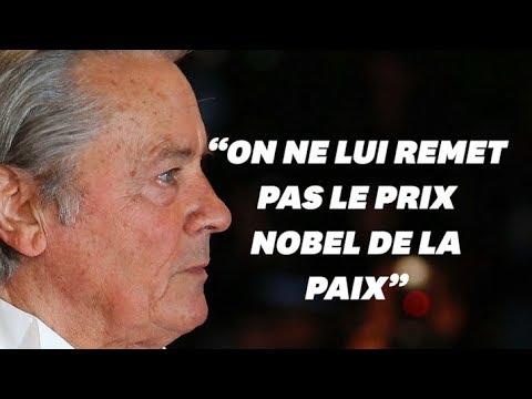 """Festival de Cannes: Alain Delon adresse une lettre à """"son public"""" après sa Palme d'honneur"""