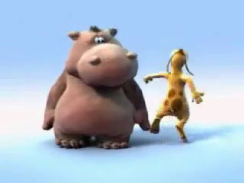 Happy Hippo sings I Like Big Butts with Dancing Dog