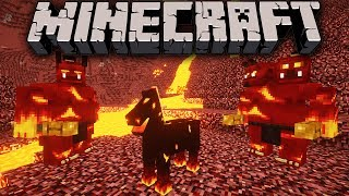 Minecraft: Zoo Keeper - Nightmare Hunt Adventure - Ep. 9 Dragon Mounts, Mo