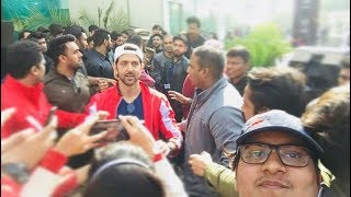 Hrithik Roshan at the HRX Cure fit event in Gurgaon