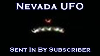 Subscriber catches UFO over Rt 80 in Elko Nevada