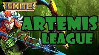 SMITE League Conquest #34 - Artemis