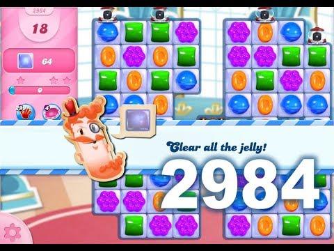 Candy Crush Saga Level 2984 (No boosters)
