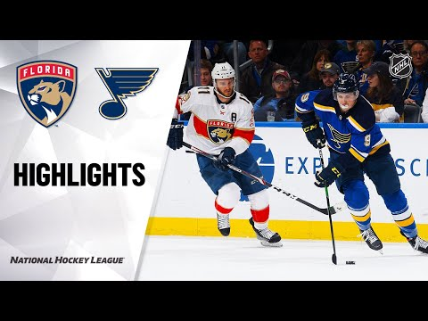 NHL Highlights | Panthers @ Blues 3/9/20