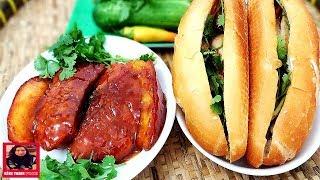Cách ướp thịt ăn Bánh Mì, Bún thật ngon chuẩn vị ngay tại nhà l Hồng Thanh Food