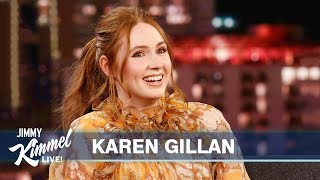 Karen Gillan on Jumanji, Christmas in Scotland & Eating Pig's Blood