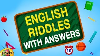 Riddles | English Riddles With Answers | Brain Teasers For Children | Mango Juniors