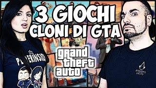 3 GIOCHI GRATIS CLONI DI GTA