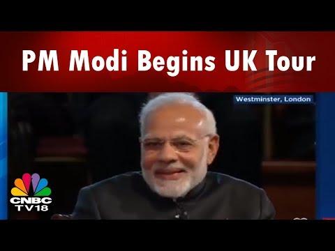 Modi In UK Live Updates: PM Modi Begins UK Tour | PM Modi's London Town Hall | CNBC TV18